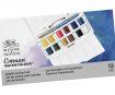 Akvareļkrāsas Cotman Pocket Plus 12x1/2 kubiņi+ota plastikāta kastē