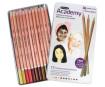 Spalvotas pieštukas Academy 12vnt. odos atspalviai metalinė dėžutė