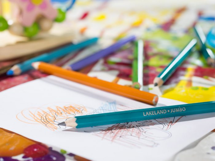 Colouring pencil Lakeland Jumbo
