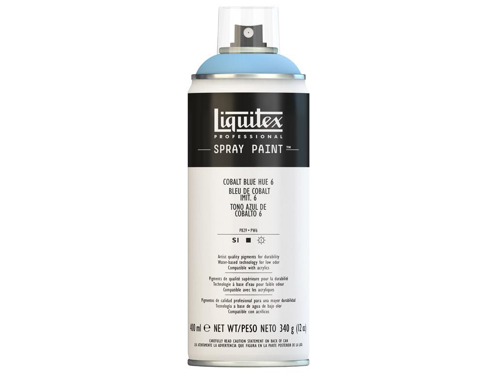 Krāsa aerosolā Liquitex 400ml 6381 cobalt blue hue 6