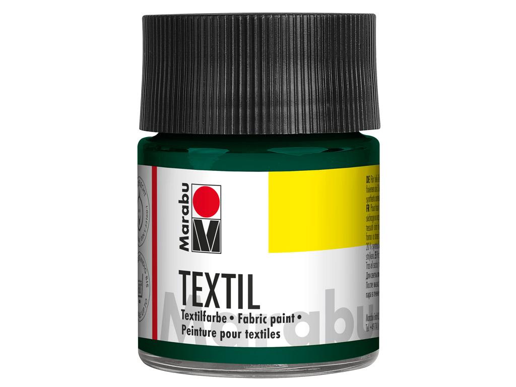 Krāsa tekstilam 50ml 068 dark green