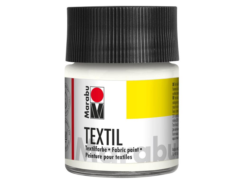 Krāsa tekstilam 50ml 070 white