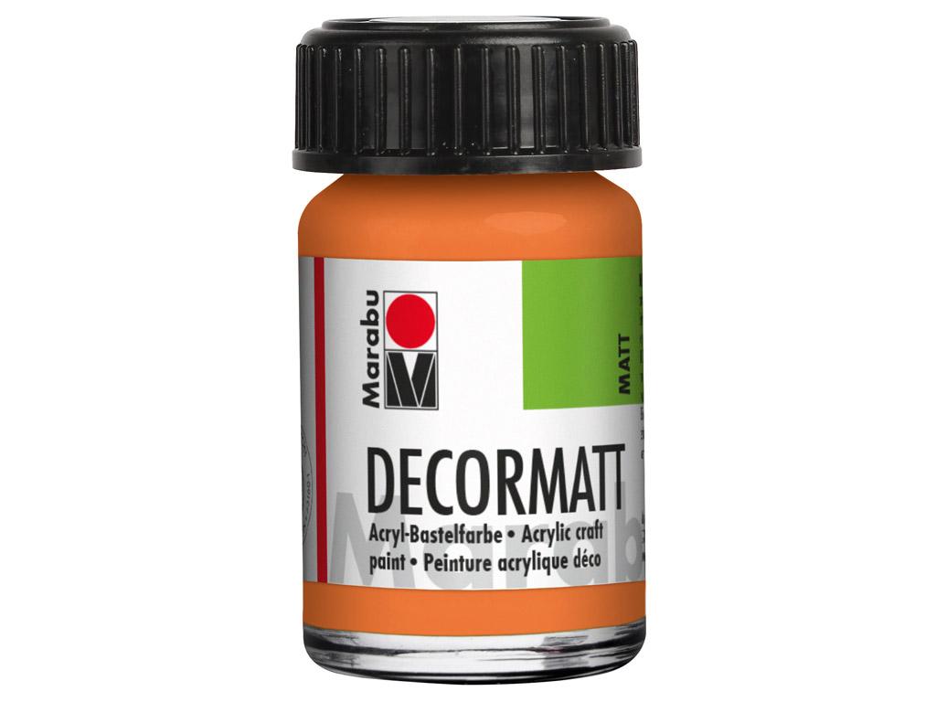 Dekorkrāsa Decormatt 15ml 013 orange