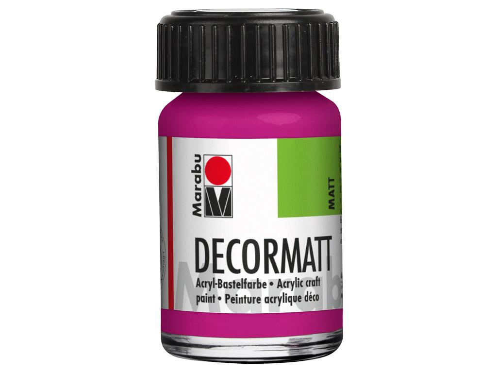 Dekorkrāsa Decormatt 15ml 014 magenta