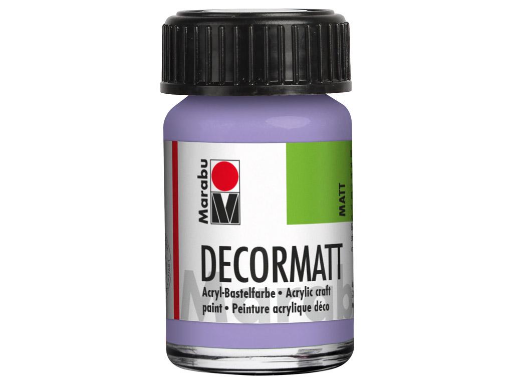 Dekorkrāsa Decormatt 15ml 007 lavender