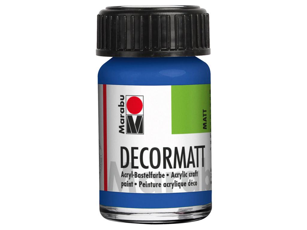 Dekorkrāsa Decormatt 15ml 052 medium blue