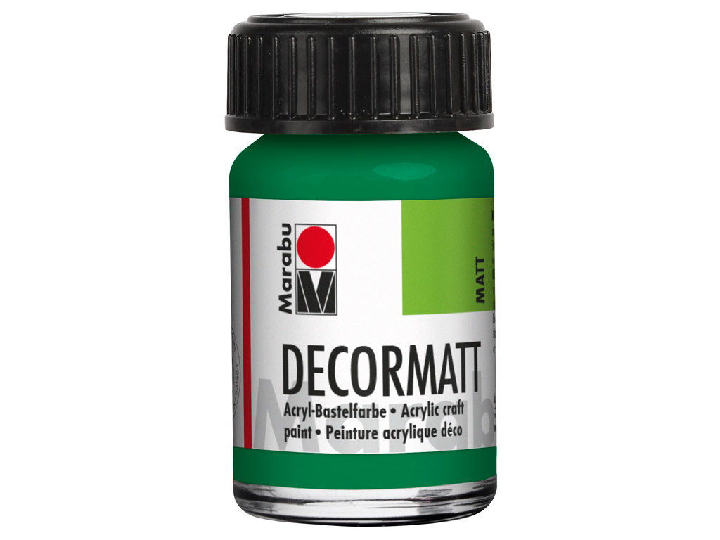 Dekorkrāsa Decormatt 15ml 067 rich green