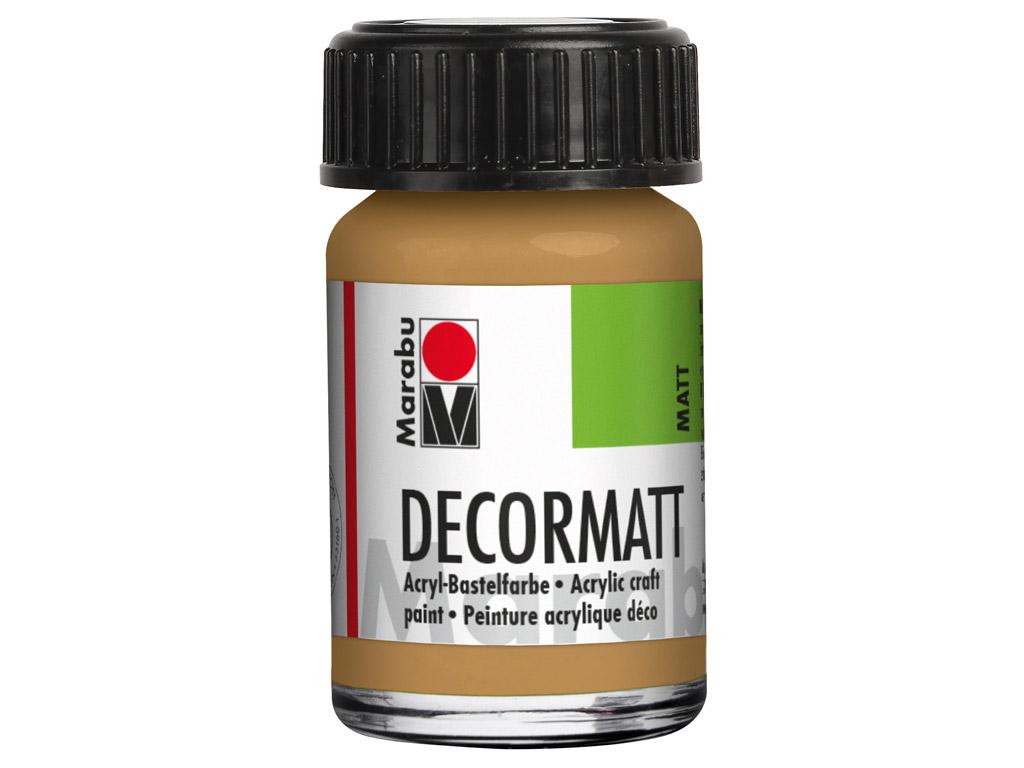 Dekorkrāsa Decormatt 15ml 042 sand