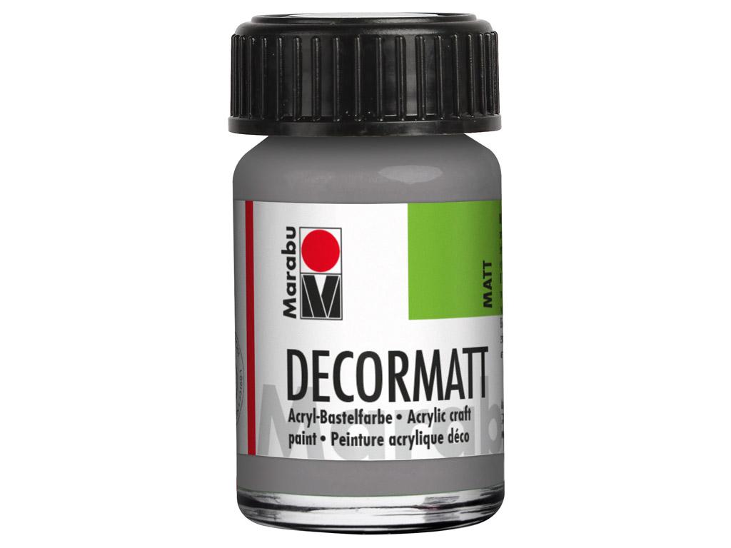 Dekorkrāsa Decormatt 15ml 278 light grey