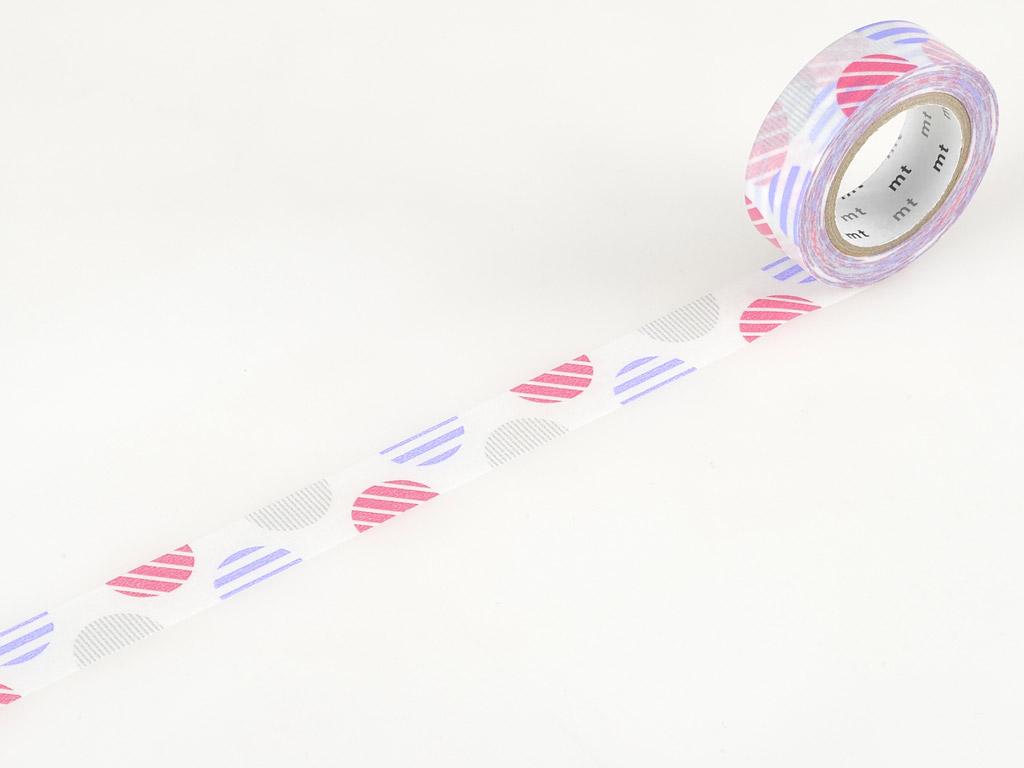 Washi līmlente mt 1P deco 15mmx10m arch pink