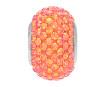 Kristāla pērle Swarovski BeCharmed Pave 80101 14mm 001API crystal astral pink