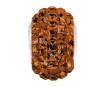 Kristāla pērle Swarovski BeCharmed Pave 80201 15mm 220 smoked topaz