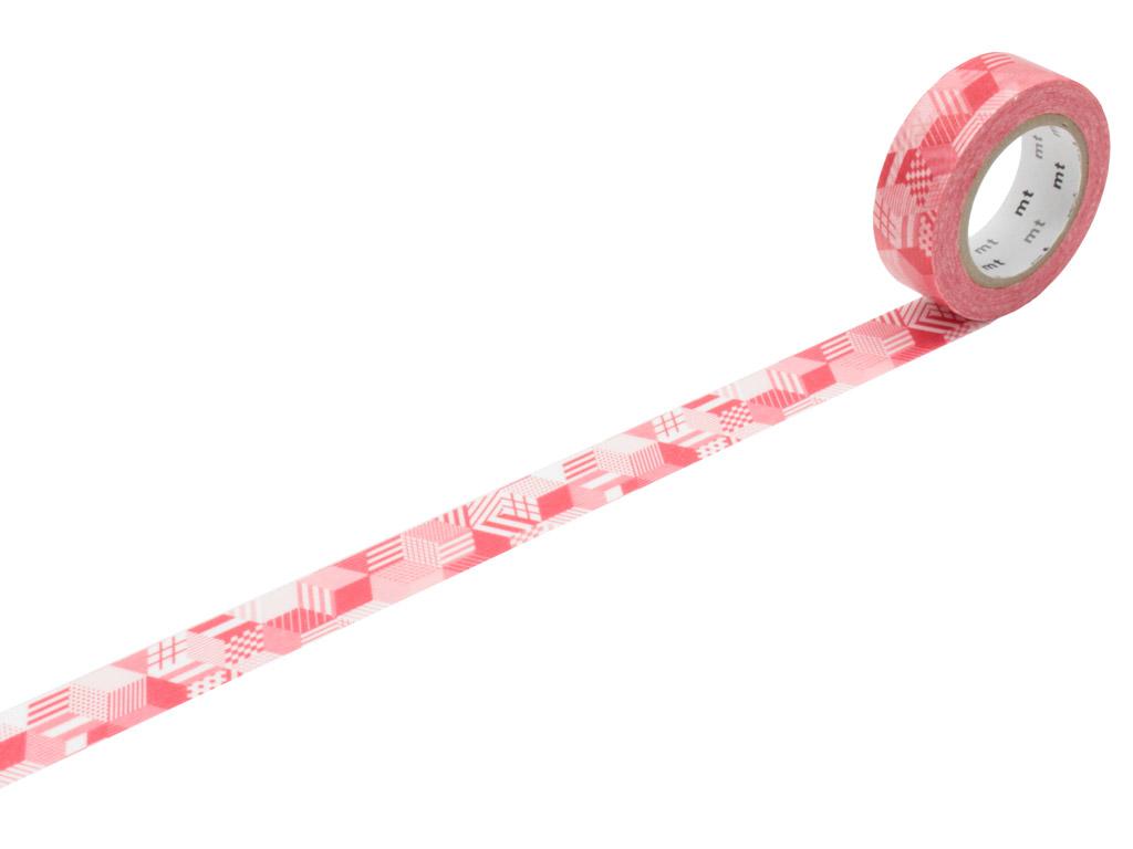 Washi līmlente mt 1P deco 15mmx10m box red
