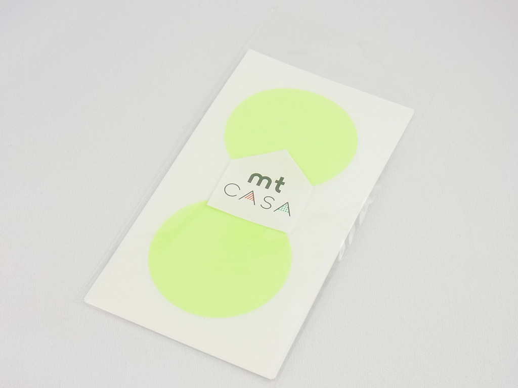Uzlīmes mt casa seal d=50mm 10gab. shocking green