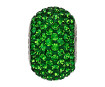 Kristāla pērle Swarovski BeCharmed Pave 80101 14mm 260 dark moss green