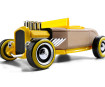 Rotaļu auto Automoblox Mini HR-2 hotrod roadster yellow