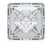Crystal fancy stone Swarovski vision square 4481 16mm 001 crystal