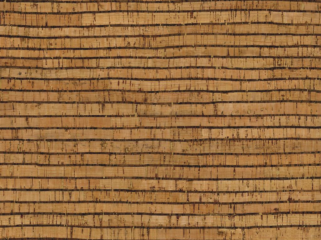 Kork rullis Rayher 0.8mm 45x30cm Stripes naturaalne/must