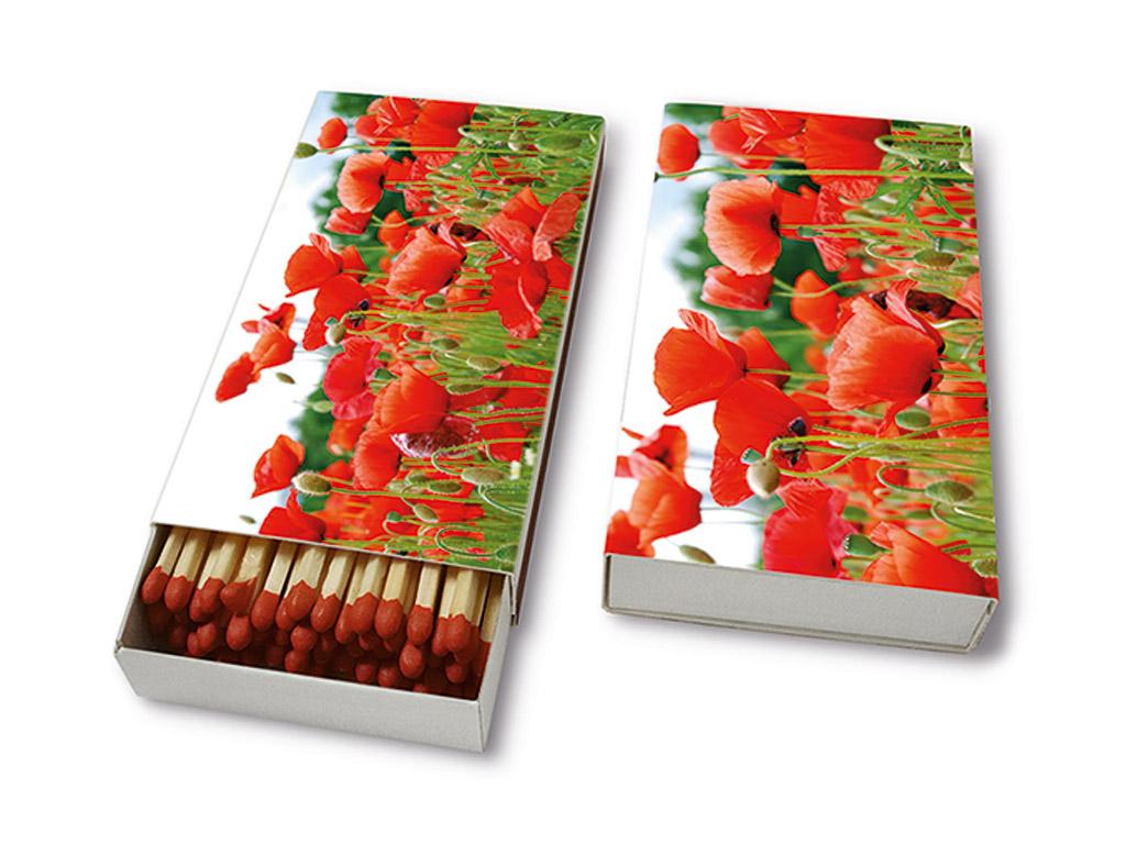 Tikud 9.5cm 45tk Field of Poppies