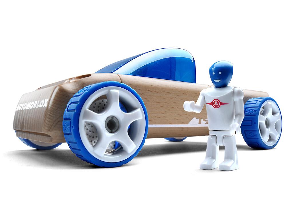 Rotaļu auto Automoblox Original T9 pick-up blue