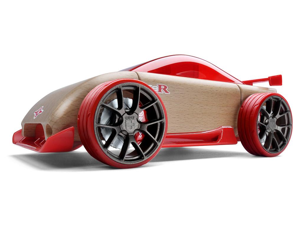 Rotaļu auto Automoblox Original C9-R sportscar red