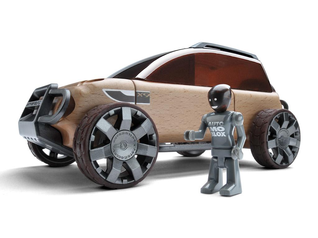 Rotaļu auto Automoblox Original X9 SUV bronze