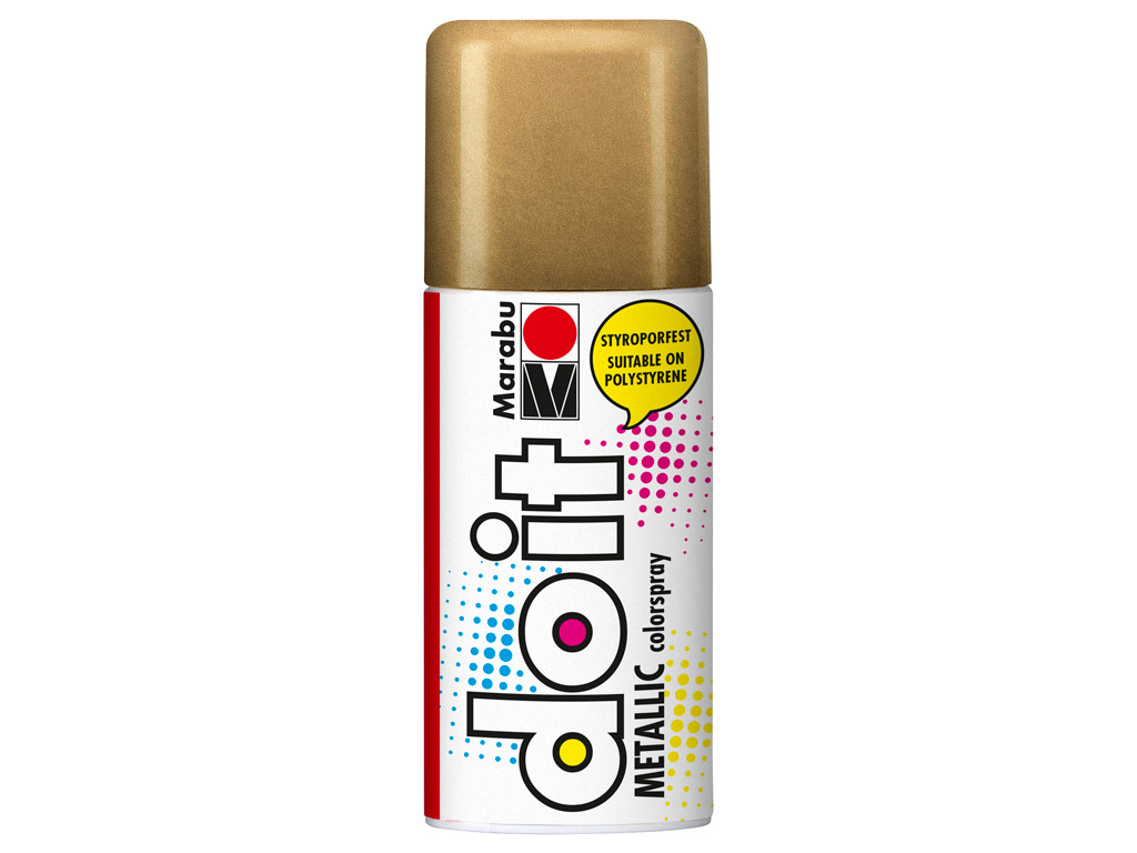 Krāsa aerosolā do it Metallic 150ml 786 red gold