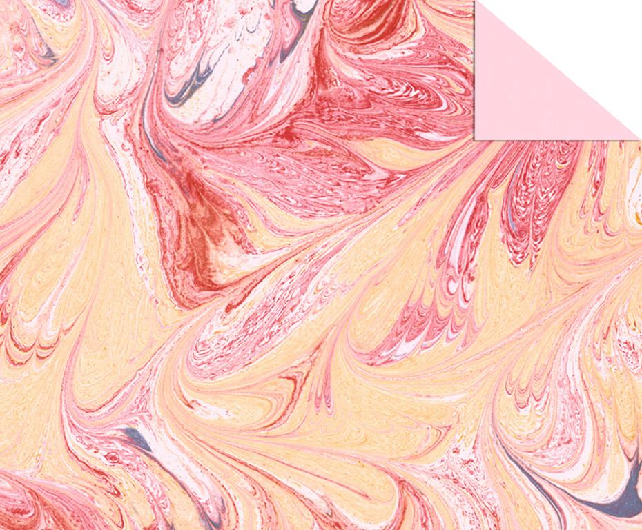 Kartong mustriga Ursus Art 49.5x68cm/220g roosa