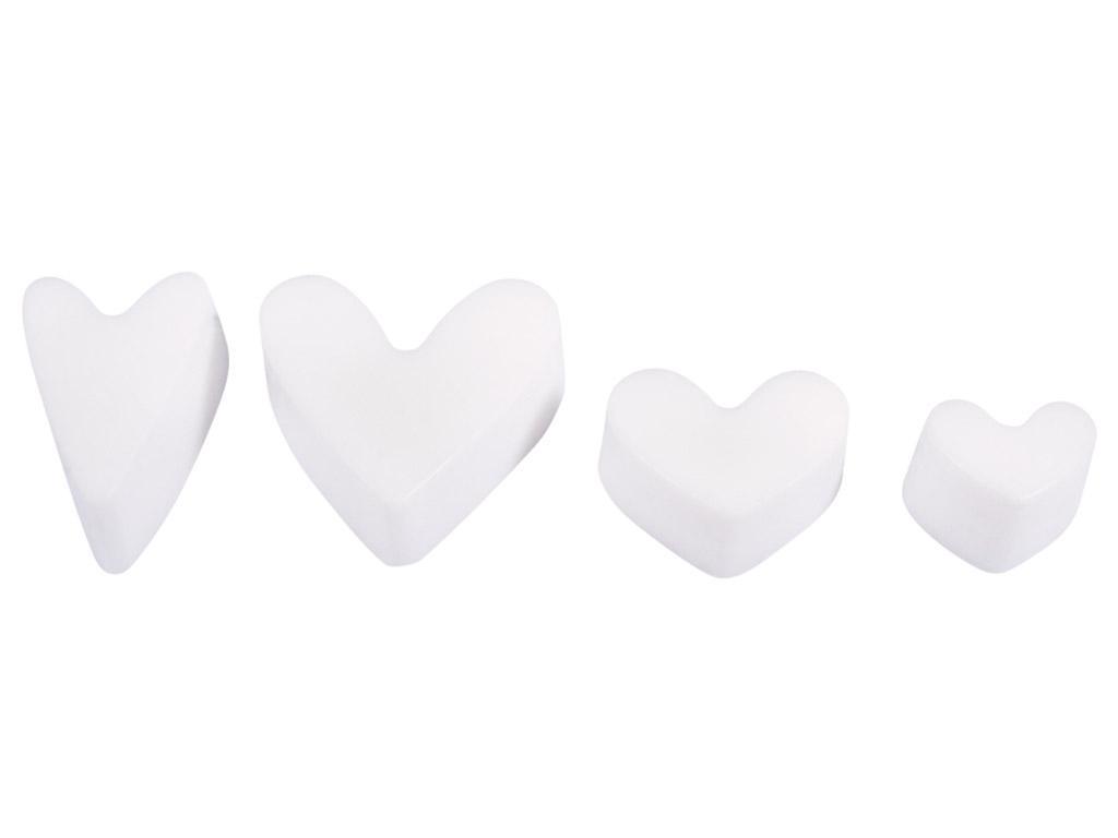 Ziepju formiņas Rayher h=3cm sirds 4 motīvi
