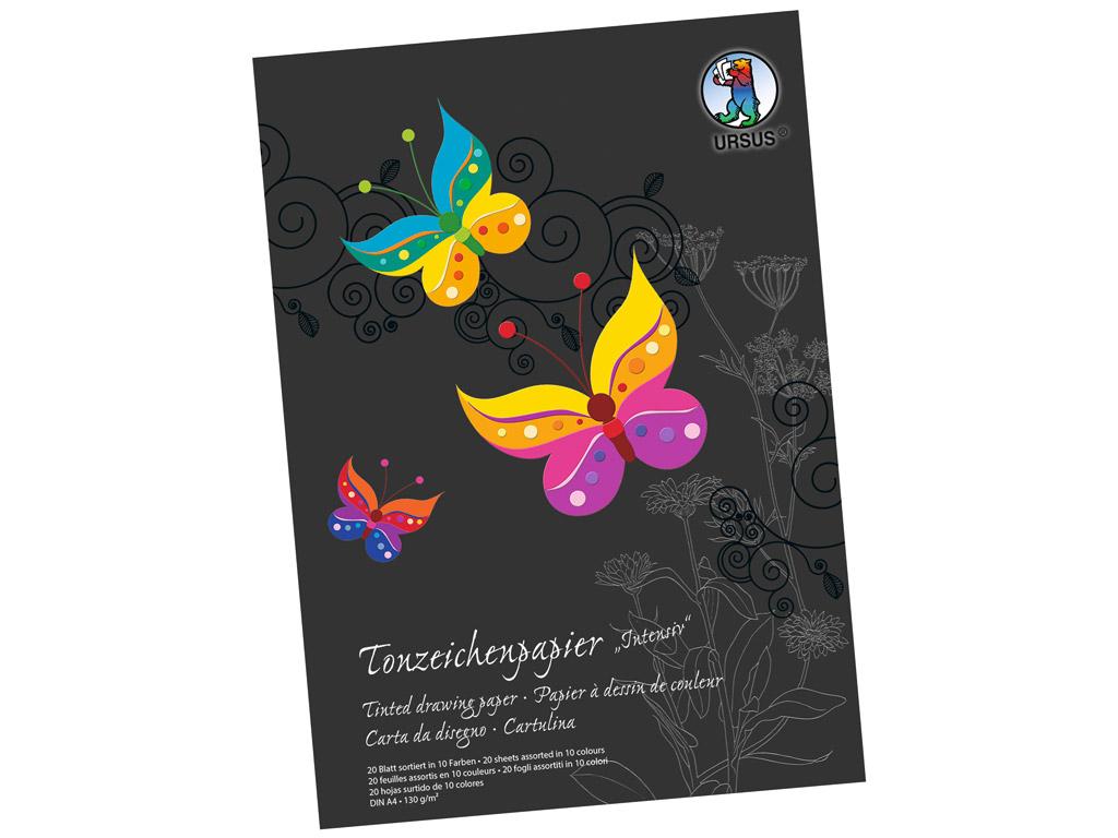 Paber värviline Ursus Special Edition A4/130g 20 lehte Intensive