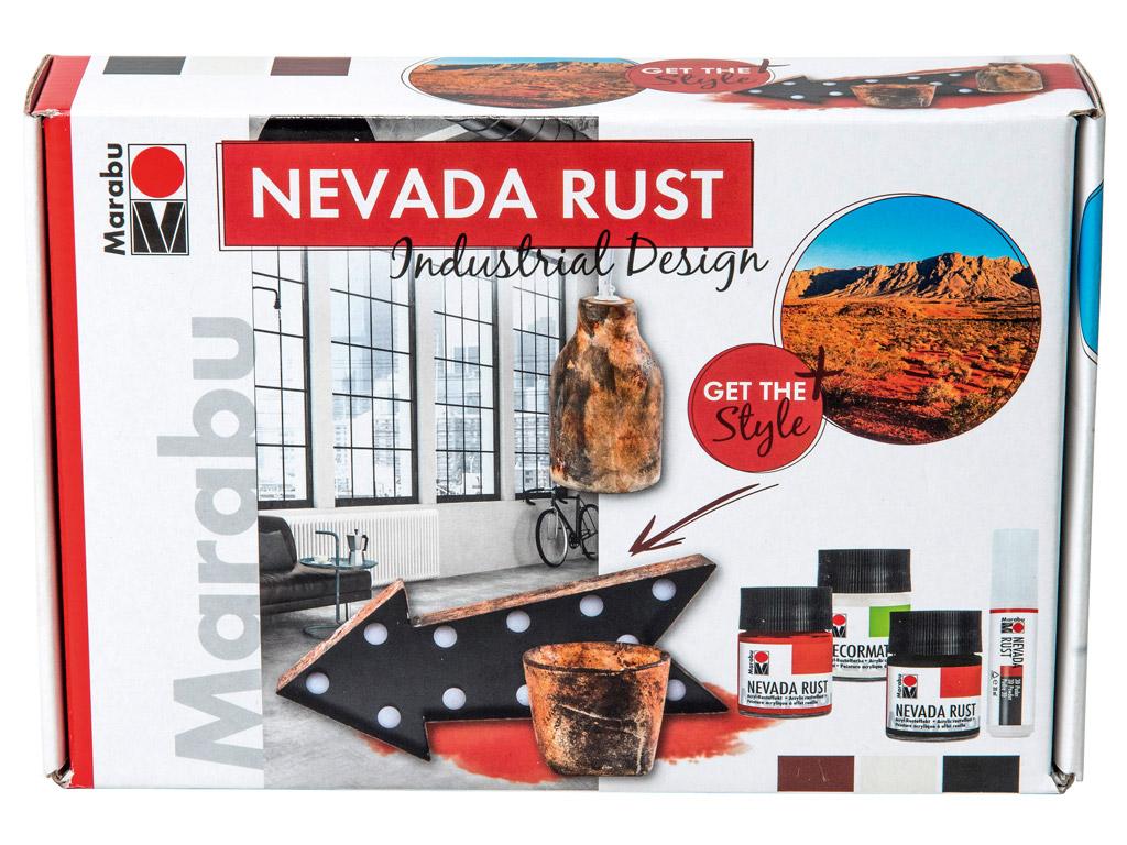 Dekorkrāsu komplekts Nevada Rust Industrial Design