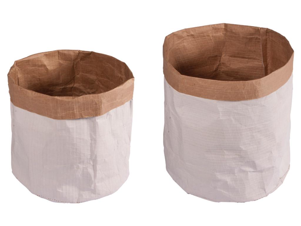 Papīra maiss Rayher ar apaļu pamatni d=13cm h=14cm/d=11cm h=10cm 2gab.