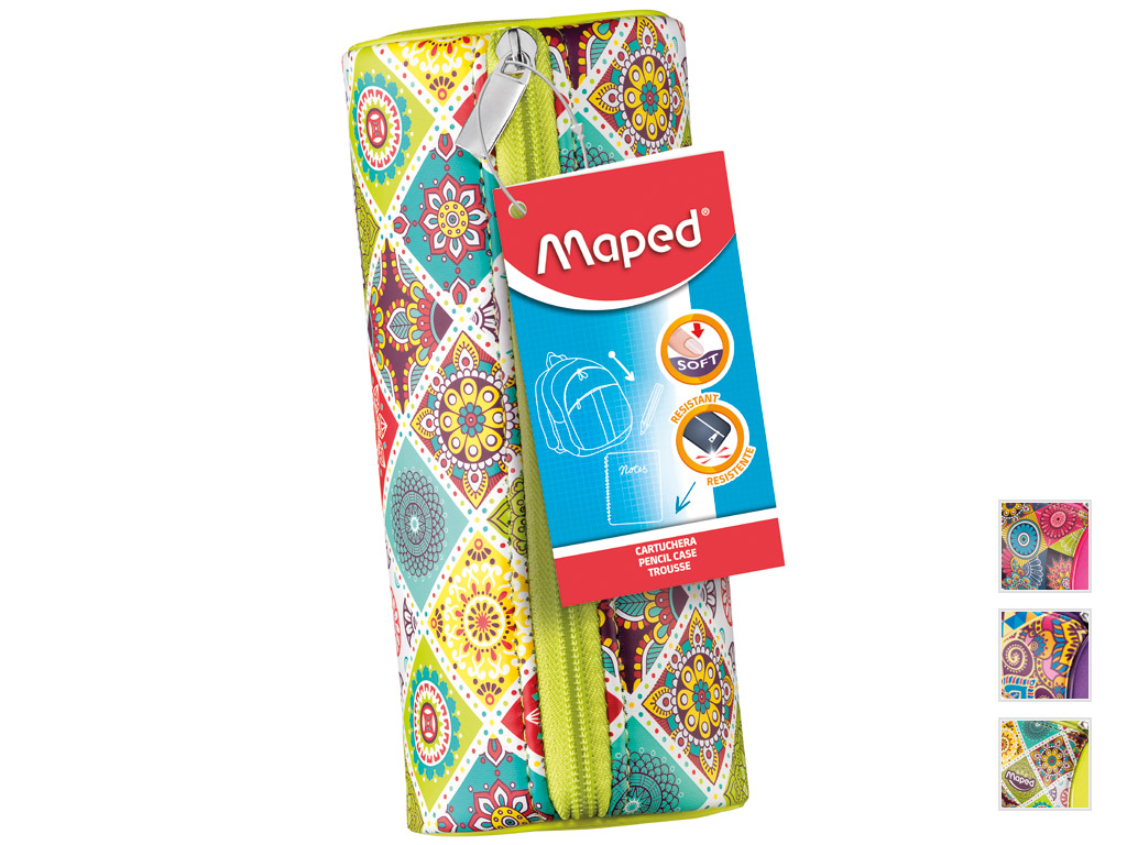 Penālis Maped cilindrs Girl Mosaics asorti
