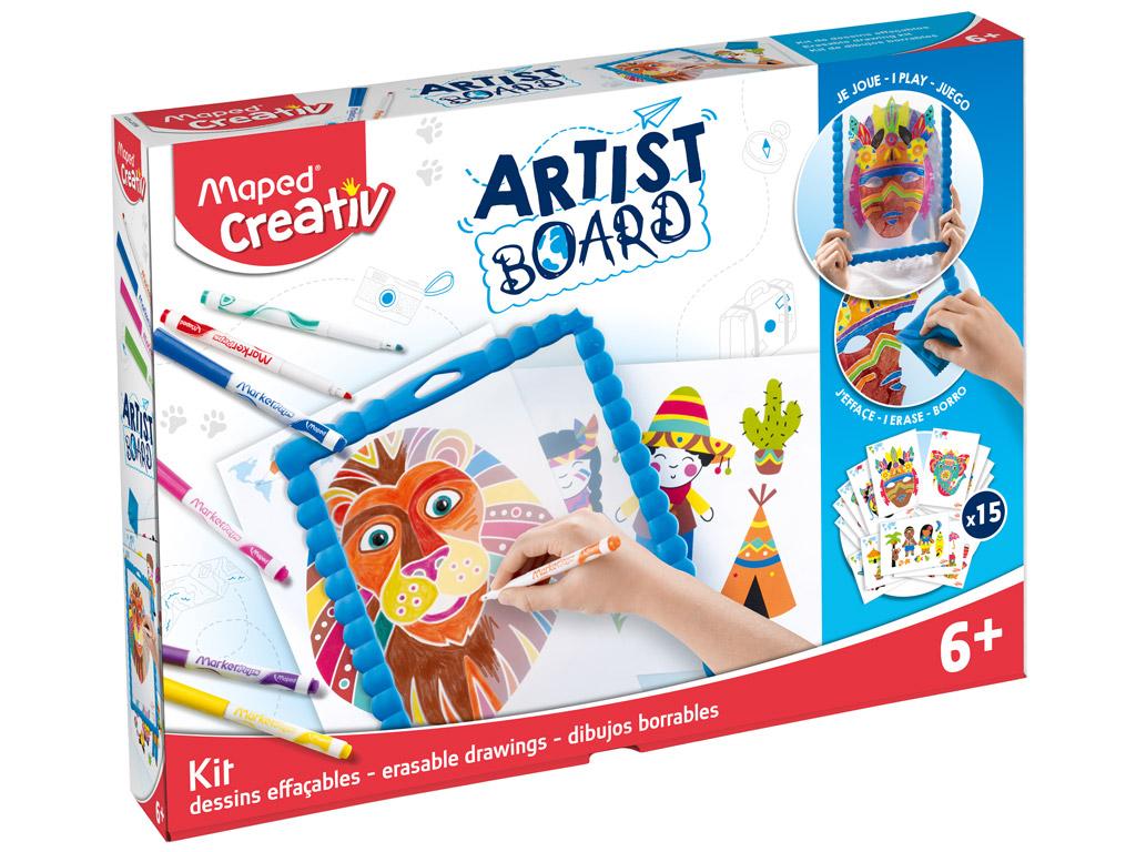 Zīmēšanas komplekts ar tāfeli Maped Creativ Artist Board