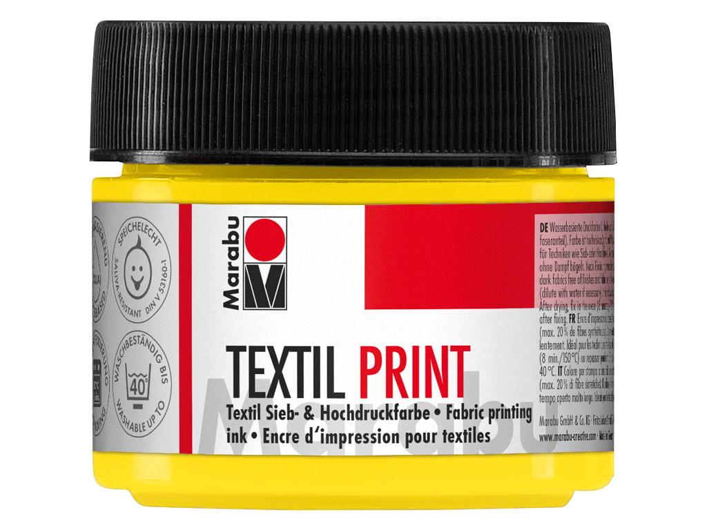 Krāsa tekstilam Textil Print 100ml 919 primary yellow