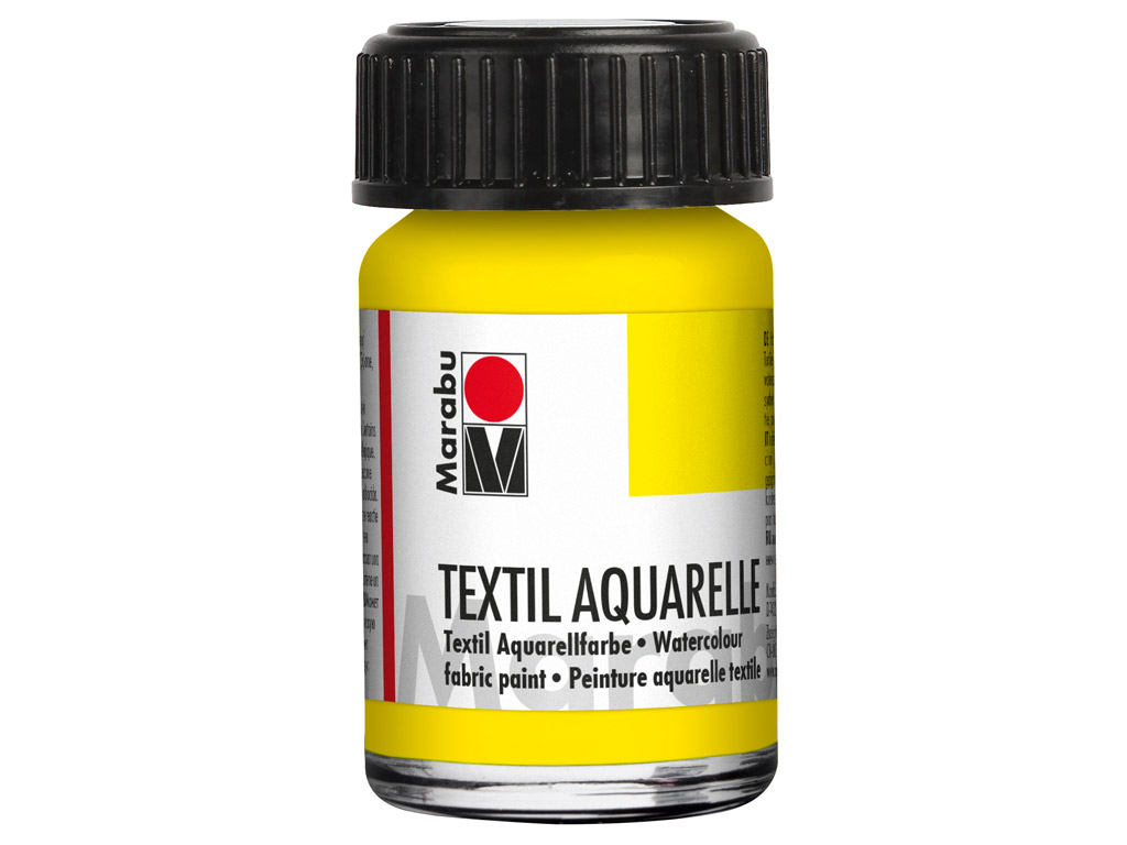 Krāsa tekstilam Aquarelle 15ml 020 lemon