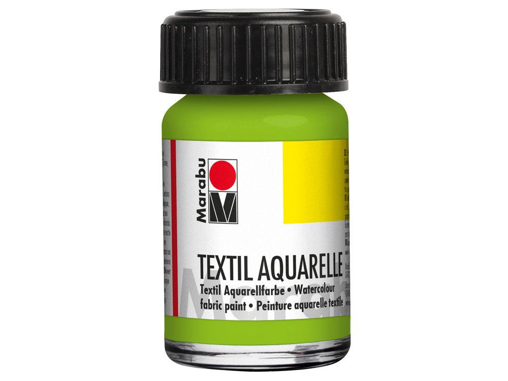 Krāsa tekstilam Aquarelle 15ml 061 reseda
