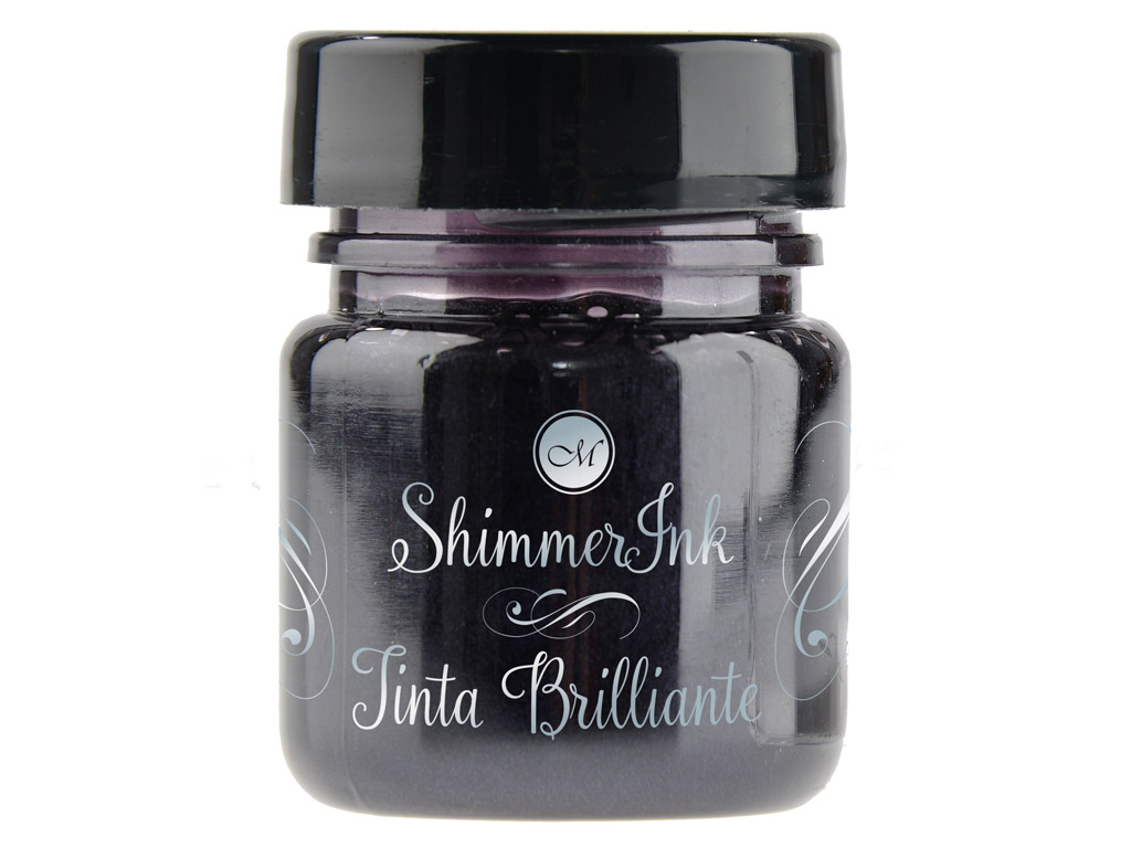 Kaligrāfijas tinte Manuscript ShimmerInk 25ml silver lights
