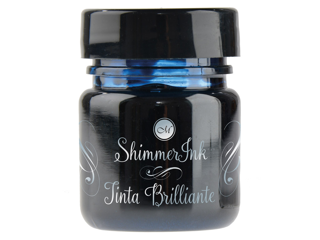 Kaligrāfijas tinte Manuscript ShimmerInk 25ml enchanted seas