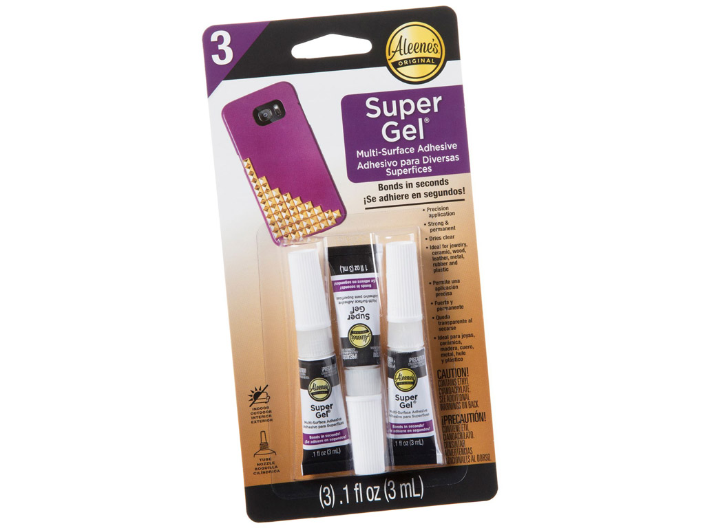 Tööstusliim Aleene's Super Gel 3ml 3tk blistril