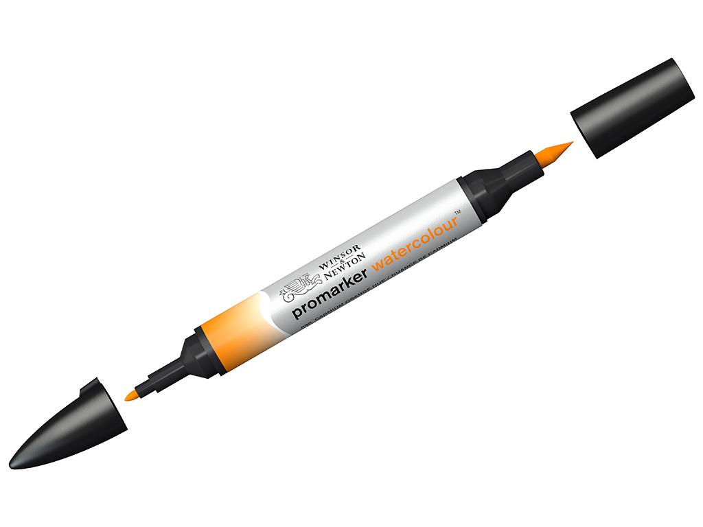 Akvarellmarker W&N 090 cadmium orange hue