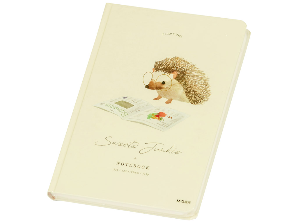 Märkmik M&G Sweets Junkie 12.5x18cm 112 lehte Hedgehog