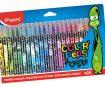 Flomasteri ColorPeps Monster 24gab.