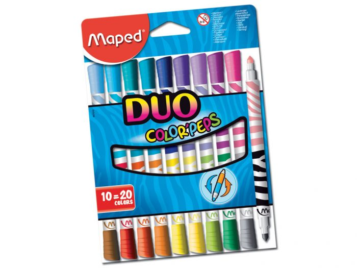 Flomasteri Maped Color'Peps Duo - 1/2