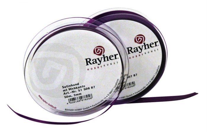 Satīna lente Rayher 10mm