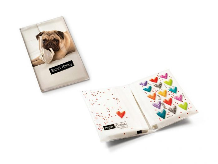 Papīra kabatlakatiņi Paper+Design Smart Hanky - 1/2
