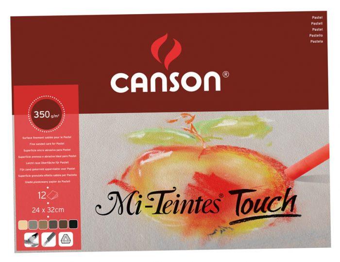 Pastellpaberiplokk Canson Mi-Teintes Touch