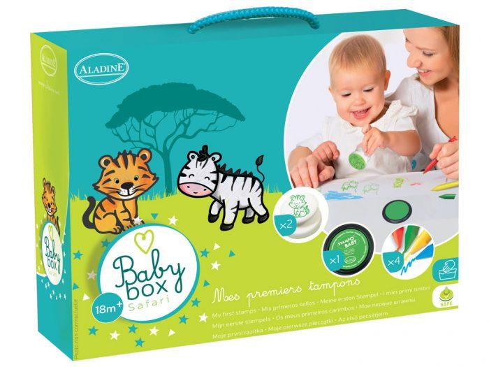 Zīmogu komplekts Aladine Baby Box - 1/2