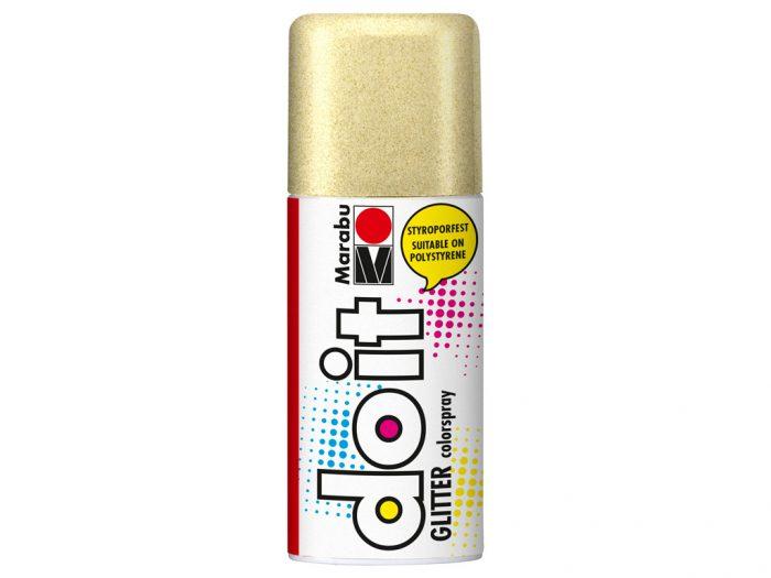 Krāsa aerosolā Marabu do it Glitter 150ml - 1/2