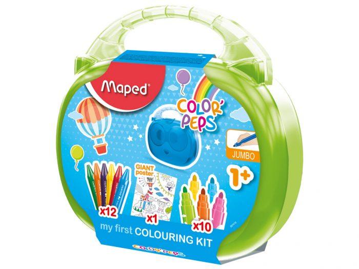 Zīmēšanas komplekts Maped Color'Peps Early Age - 1/2